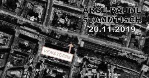 ARGE Räume - Stammtisch IX @ VENSTER99