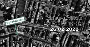 ARGE Räume - Stammtisch XII @ Setzkasten Wien